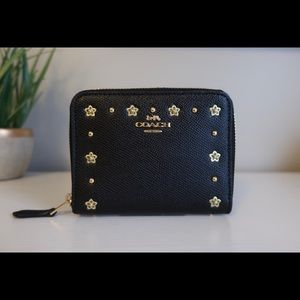 BRAND NEW EMBELLISHED COACH WALLET